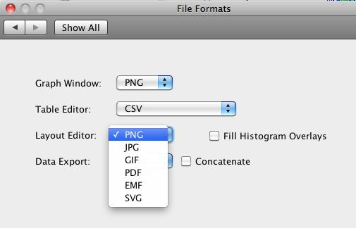 Flowjo v764 output file formats